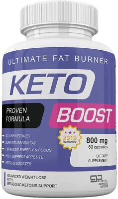 $20.95 • Buy Keto Boost Ultimate Fat Burner 800 Mg 60 Capsules 1 Month Supply *fast Shipping*