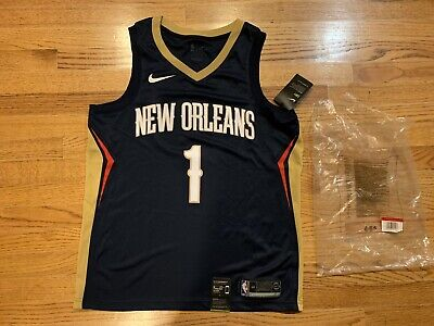 $149.99 • Buy New Zion Williamson New Orleans Pelicans Sewn Nike Swingman Jersey Size L 48 NWT