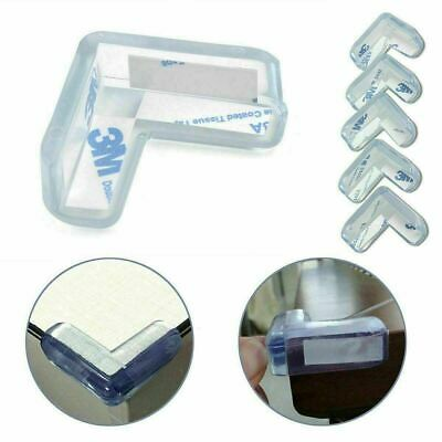 £2.79 • Buy 4x Baby Safety Protector Clear Rubber Furniture Corner Edge Table Cushion Guard