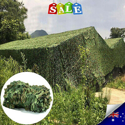 £19.99 • Buy UK Camouflage Net Camo Netting Hide Hunting Shooting Military Army Camping Cover
