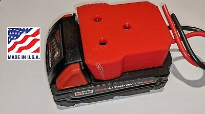 $ CDN20.80 • Buy Milwaukee M18 Battery Adapter Holder Dock With Wires For Power Wheels Upgrade