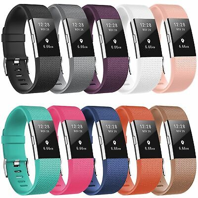 $ CDN22.05 • Buy 10 PACK Color For Fitbit Charge 2 REPLACEMENT BRACELET Watch Band Heart Rate New