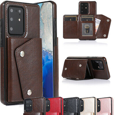 AU17.99 • Buy For Samsung Galaxy S20 S10E S10 S9 S8 Plus Case Wallet Stand Leather Cards Cover
