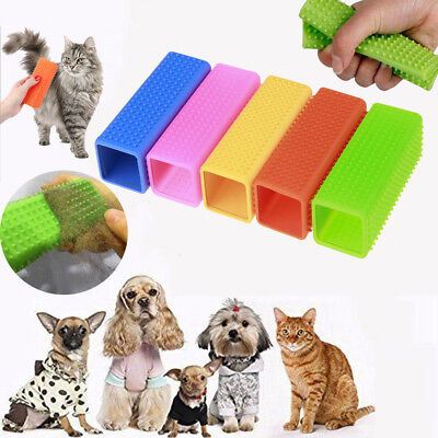 Pet Dog Cat Hair Remover Clothes Carpet Fur Lint Shedding Brush Cleaning Cleaner • 3.95£
