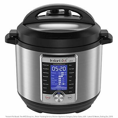 $226.92 • Buy Instant Pot Ultra 10-in-1 Electric Cooker, 6 Quart, 16 1-Touch Programs
