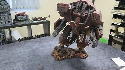 AU499 • Buy Warhammer 40k Huge Chaos Banelord Titan Painted