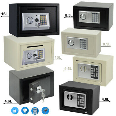 Secure Digital Steel Safe High Security Electronic Home Office Money Safety Box • 19.99£