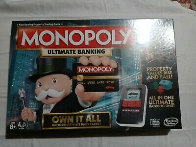 $26 • Buy Brand New In Box Mint Factory Sealed Ultimate Banking Electronic Monopoly Game