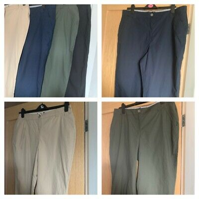 DOROTHY PERKINS Ladies Cropped Cotton Trousers - Various Colours - Sizes 6-16 -  • 5.99£