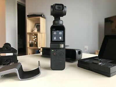 $272.52 • Buy DJI Osmo Pocket 3-Axis Stabilizer And 4K Handheld Camera Many Accessories