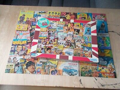 Spirit Of The 60's 1000 Piece Jigsaw Puzzle • 16£