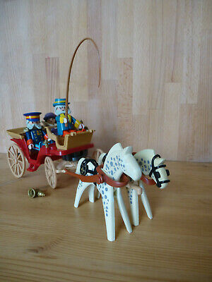 Playmobil 5600 - Victorian Horse-drawn Carriage, Lady, Driver And Footman • 5.50£