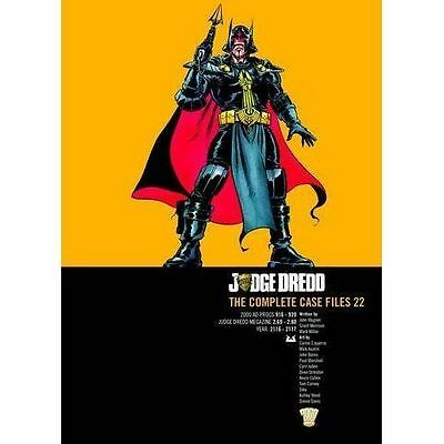 Judge Dredd The Complete Case Files 22 John Wagner 2000AD • 15.23£