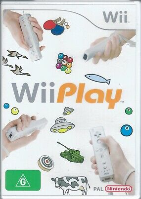 AU8.99 • Buy Wii Play For Nintendo Wii In Box - Free Post!