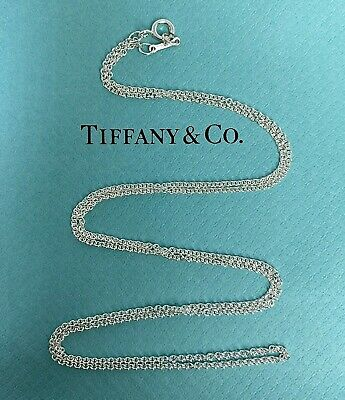 $38 • Buy Tiffany & Co. Paloma Picasso Sterling Silver 925 Link Chain Necklace 24