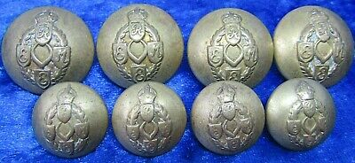 8  WW2 Kings Crown REME Royal Electrical & Mechanical Engineers Officers Buttons • 20£