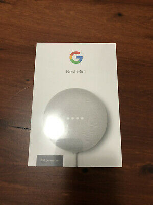 AU45 • Buy BNIB Google Nest Mini (2nd Generation) Smart Speaker - Chalk | FREE POSTAGE