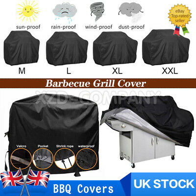 £11.99 • Buy Heavy Duty BBQ Cover Waterproof Barbecue Grill Protector Outdoor Covers M/L/XL