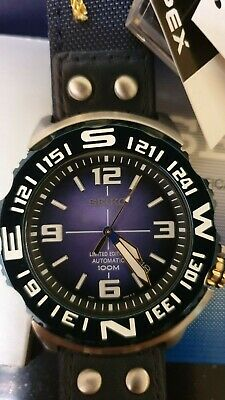 $ CDN517.72 • Buy NOS SEIKO SRP451K1 Blue Monster Watch Limited Superior 4R35 Automatic Nylon