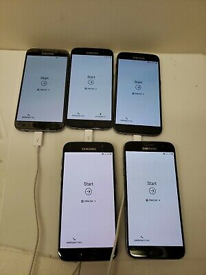 $ CDN240.22 • Buy LOT OF FIVE!! Samsung Galaxy S7 SM-G930 - 32GB - Black - Smartphone
