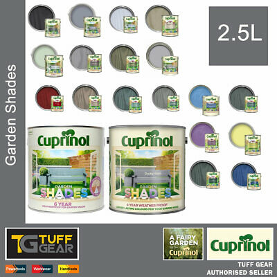 Sheds Fences Furniture Paint Outdoor Exterior Cuprinol Garden Shades 2.5L  • 24.99£