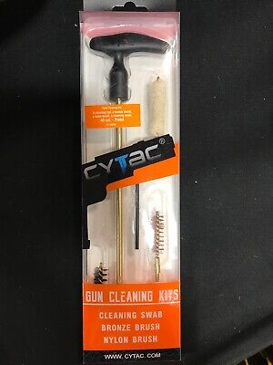 $ CDN26.85 • Buy PISTOL/RIFLE Cleaning Kit-4 PEICE GUN CLEANING KIT-CYTAC-for 9MM/38 CALIBER