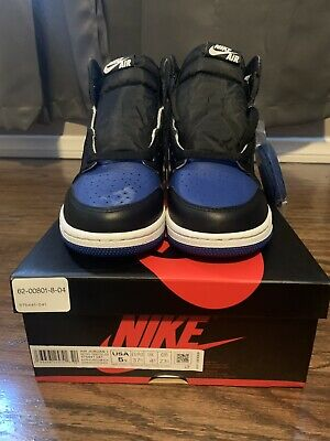 $180 • Buy **DEFECTIVE** Jordan Retro 1 Og High Royal Toe GS Size 5Y 100% Authentic
