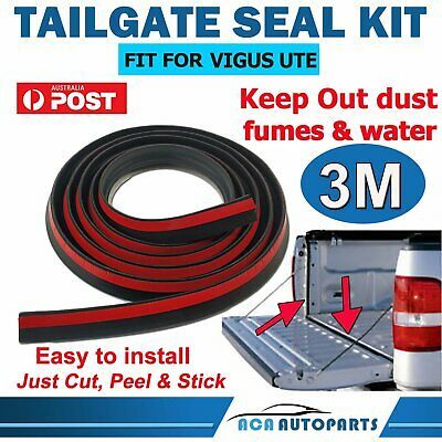AU33.90 • Buy Tailgate Seal Kit For JMC VIGUS UTE 3M Rubber Dust Tail Gate Seal AUSSIE!
