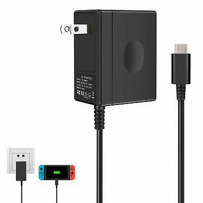 $19.99 • Buy Wall Charger For Nintendo Switch, Portable AC Adapter With Power Cord Dock/Pro