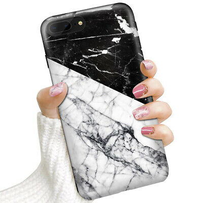 AU9.99 • Buy ( For IPhone 6, IPhone 6S ) Soft IMD Case Cover 0017 Black White Marble