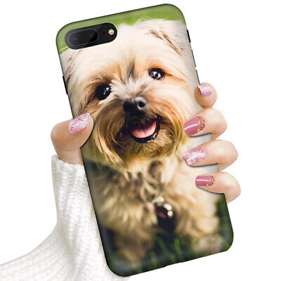 AU9.99 • Buy (For IPhone 8 Plus, IPhone 7 Plus) Soft IMD Case Cover 0102 Cute Puppy Dog