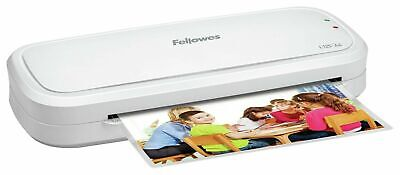 Fellowes L125 A4 Laminator, Maximum Pouch Thickness 125 Microns Inc 10 Pouches • 17.95£