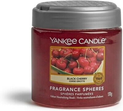 Yankee Candle Fragrance Spheres Air Freshener, Up To 30 Black Cherry • 6.99£