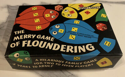 Vintage The Merry Game Of Floundering By Spears - 100% Complete • 9.50£