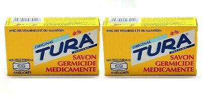£9.49 • Buy Tura Original Germicidal Medicated Soap Pack Of 3 & 6 With Tura Pen