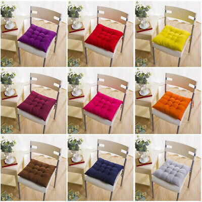 AU7.91 • Buy Chair Cushion Tie On Seat Dining Room Kitchen Office Decor  Thicken Pad