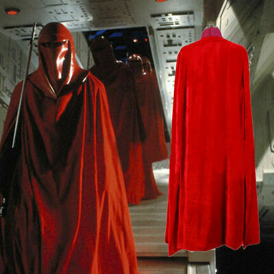 £43.70 • Buy Hot!Star Wars Imperial Emperor's Red Royal Guard Cosplay Costume