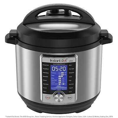 $192.97 • Buy Instant Pot Ultra 10-in-1 Electric Pressure Cooker, Sterilizer, Slow Cook... New