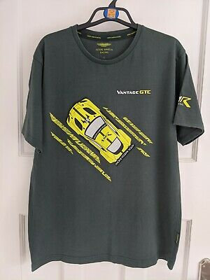 Aston Martin Racing Official T Shirt From Le Mans Large • 10£