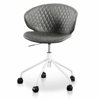 AU195 • Buy Amos Office Chair - Charcoal With White Base