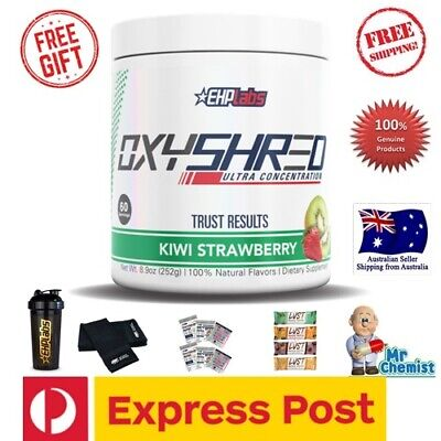 AU71.99 • Buy EHPlabs Oxyshred ALL FLAVOURS EHP Labs + Free Shaker 60 Servings EXPRESS Option