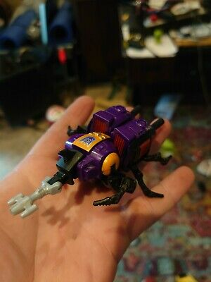 Transformers Generations Decepticon Insecticon Bombshell Mini Toy Figure Beetle • 3£