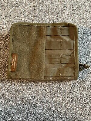 TEMPLAR ASSAULT SYSTEMS COMMANDERS MOLLE ADMIN PANEL COYOTE TAN Airsoft Milsim • 10£
