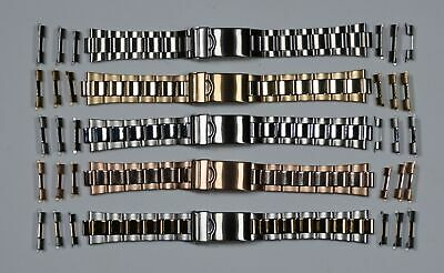 Oyster Watch Straight End Bracelet Strap 18mm 20mm 22mm High Quality For Rolex • 16.95£