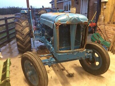 Fordson Major 6cylinder With Cooks 2 Speed Winch • 2,750£