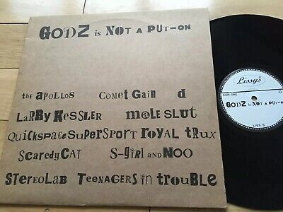 LP 'Godz Is Not A Put-On' With Stereolab And Others • 5.99£