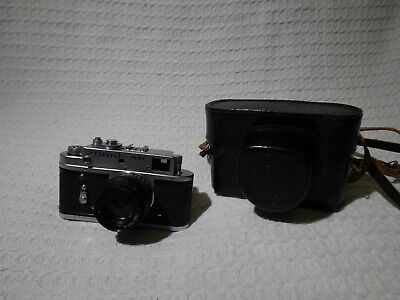 Vintage Russian Zorki 4K 35mm Film Rangefinder Camera & Jupiter-8 50mm Lens • 29.99£