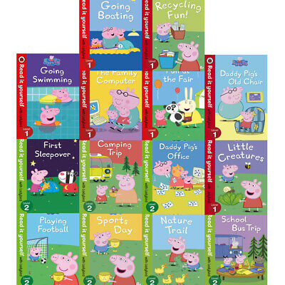 £17.99 • Buy Peppa Pig Read It Yourself With Ladybird 14 Books Children Collection Set For Le