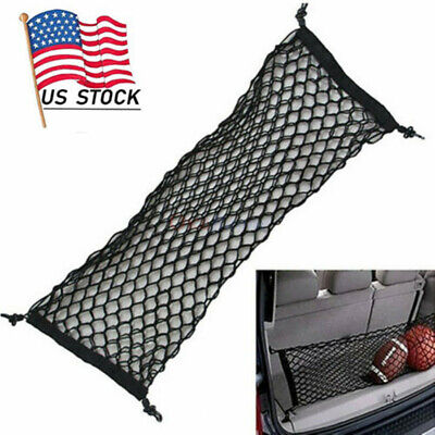 $19.99 • Buy Parts Accessories Car Trunk Cargo Net Storage Envelope Style Universal
