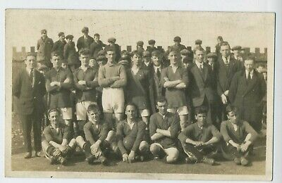 Unknown Football Team C1920 Vintage Real Photograph Social History Postcard R5 • 2.99£